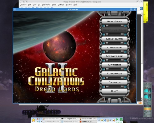 Link to screenshot of GalCiv2 running in Wine